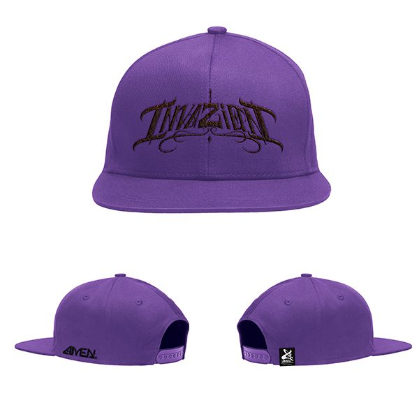 Invazion-gorra-marada-logo-negro