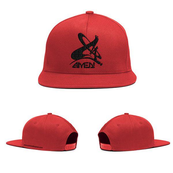 amen-clasica-roja-con-bordado-Negro-plantilla