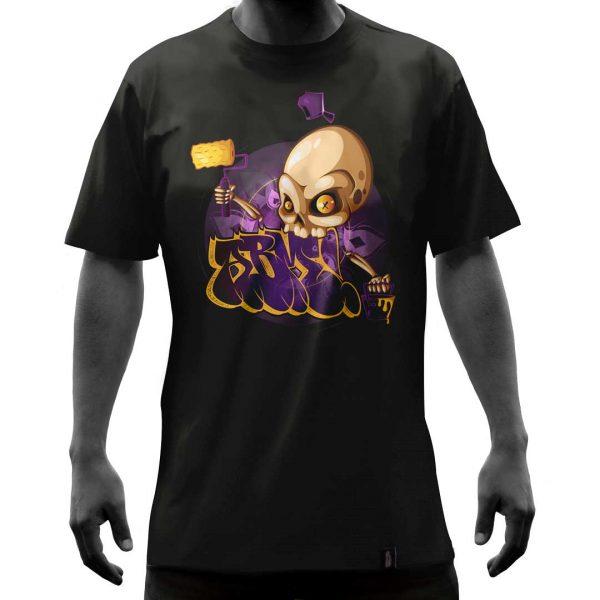 Camisas-negra-calaveraabm-frente