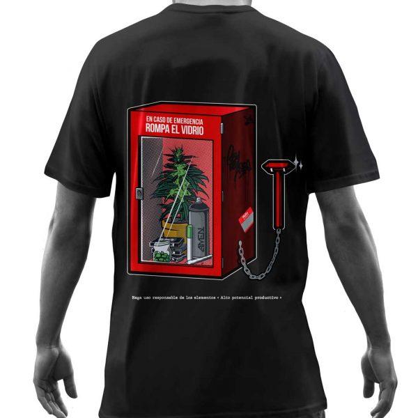 Camisas-posterio-caja-de-mariahuana-negra